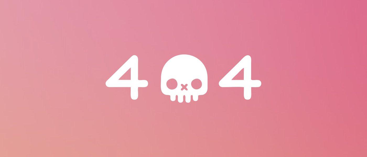 404-страница: как красиво сообщить об ошибке?